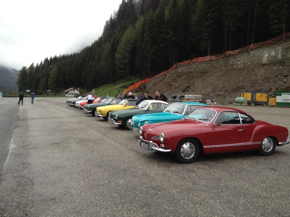 """Tour """"Quer durchs Ländle 2013″ Südtirol – Anreise Tag1"""