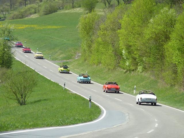 """Die erste gemeinsame Ausfahrt – Tour """"Quer durchs Ländle"""" 2012″ in dieHohenlohe"""