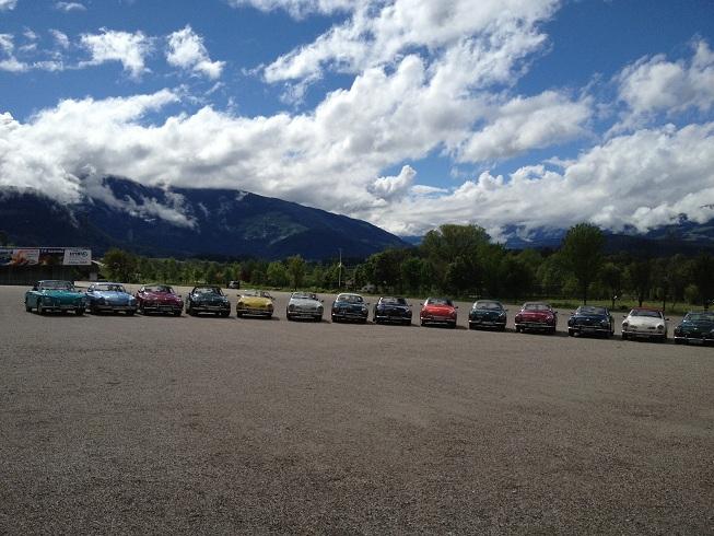 "Tour ""Quer durchs Ländle 2013″ Südtirol – Vier PässeTour"
