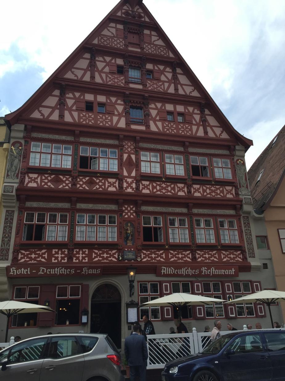 """Tag 3 der Tour durchs Ländle """"Mittelfranken """"-Dinkelsbühl"""