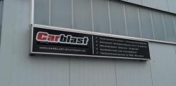 Karmannfans besuchen die Firma Carblast in Welzheim