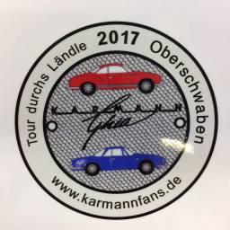 """""""Tour durchs Ländle 2017"""" der Karmannfans"""