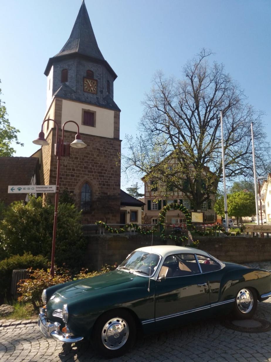 Karmannfans auf Burgen-Tour an Ostern2019