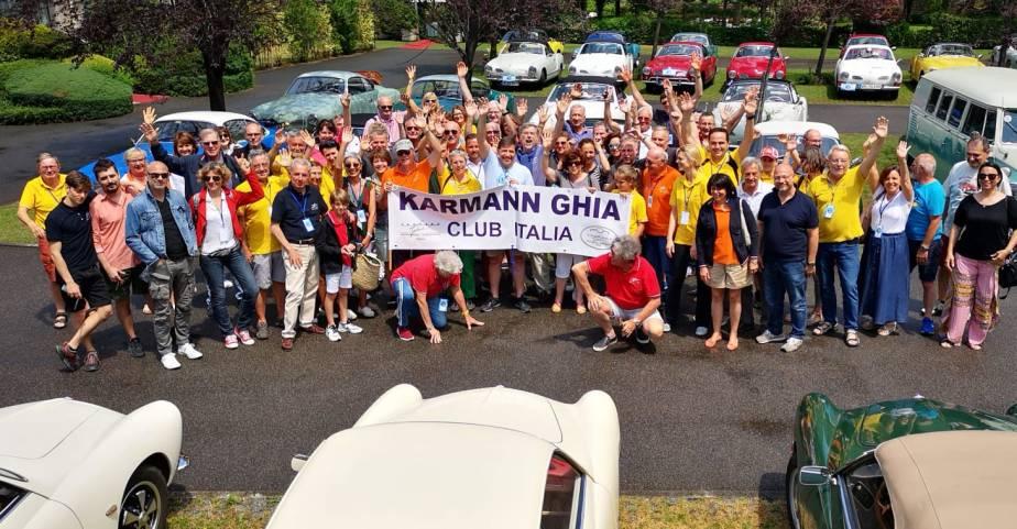 Karmann Ghia Treffen am Lagod´Iseo