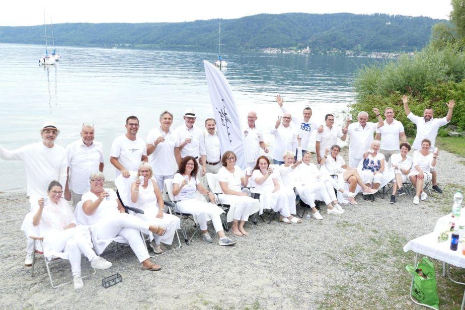"""""""Weisse Seenacht der Karmannfans"""" am Bodensee2019"""